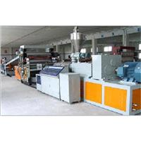 供应PVC广告板生产线