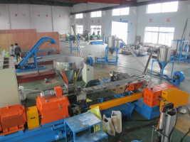 供应低烟无卤电缆料造粒机设备厂家