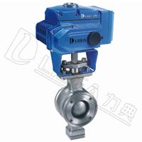 供应LDBAAV系列 电动V型对夹球阀(调节型)