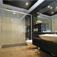 广州欧艺调光玻璃淋浴房应用