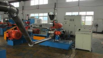 供应低烟无卤电缆料造粒机机械厂