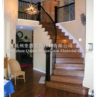 供应高端品质铁艺楼梯扶手阳台栏杆厂家直销