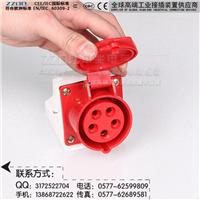 供应明装工业插座ZZ115 五孔明装 16A IP44