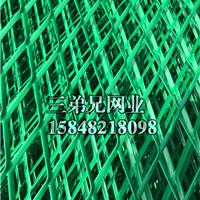包头绿色护栏网 菱形网护栏批发