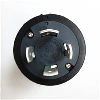 供应日本60A美国电机引挂式工业插头4622R