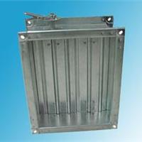 供应镀锌板对开多叶调节阀,电动风量调节阀