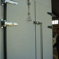 JSDB型双扇对开推拉式铰链门,天津冷库门