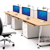 深圳办公家具厂家定制6人位办公屏风卡位