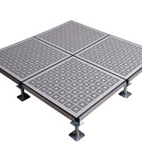 供应全钢通风地板机房上排风系统格栅地板