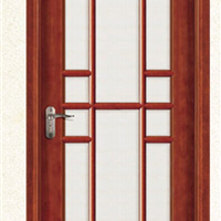 供应上海奢华实木玻璃门