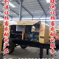 内蒙古赤峰车载式搅拌拖泵尾部圆弧型设计