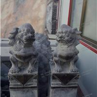 供应仿古石雕花盆养鱼缸拴马桩石柱