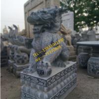 供应石雕麒麟雕刻汉白玉石狮子仿古石像