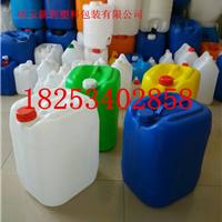 供应耐酸碱兰色20KG塑料桶价格
