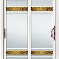 玻璃移门厂家|艺术玻璃镶嵌玻璃门厂