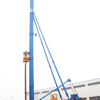 CFG26 液压步履式长螺旋钻机