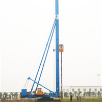 CFG30 液压步履式长螺旋钻机