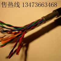 国标HYA50*2*0.5色谱对绞通信电缆价格