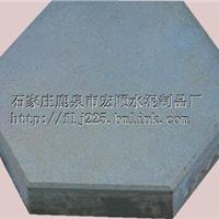 供应水泥制品 实心六角护坡砖