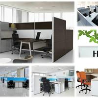 简洁现代的震旦办公桌老板桌