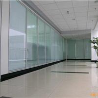 铝合金办公玻璃隔断产品 办公装修材料