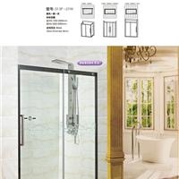 广东淋浴房产品  简易浴室玻璃移门厂家