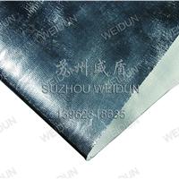 江苏铝箔复合布,风管专用铝箔玻纤防火布