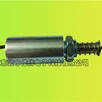 圆柱体推拉式电磁铁 微型耐高温防水电磁铁