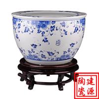 供应景德镇陶瓷大缸 摆饰陶瓷大缸