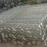 供应台州180*5侧装笼式圆形镀锌滤袋笼骨架