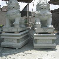 花岗岩狮子 青石石狮子 多种石料可定制生产