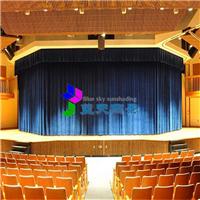 供应电动舞台幕布  对开式舞台拉幕