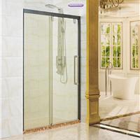 供应卫生间玻璃移门 一字型玻璃门厕所玻璃