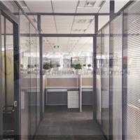 供应苏州办公室钢化玻璃高隔断屏风隔断墙