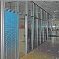 供应防火玻璃高隔间高墙高隔间单玻玻璃隔断