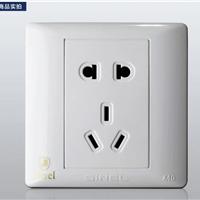 供应K4.0五孔 电源插座 (世耐尔86型品牌)