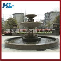 生产销售精美喷水池 花岗岩石雕喷水池
