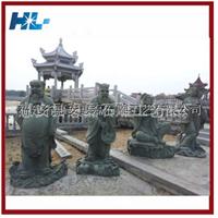 惠安厂家专业制作精致园林石雕八仙过海石雕