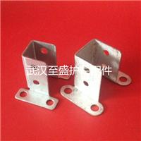 供应锌钢护栏立柱配件-四孔固定座