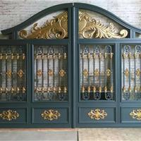 供应铝艺大门,铝艺栏杆,铝艺配件