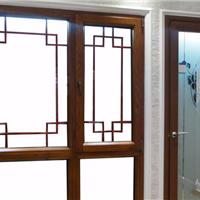 供应北京德维诺65系列断桥木纹转印平开窗