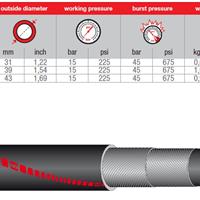 供应IVG橡胶管物料管混泥土振动器管V