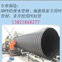 HDPE钢带增强螺旋管天津太原沧州生产厂家