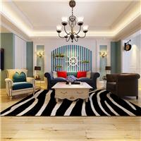 哈尔滨麻雀装饰公司-海富第五大道-美式风格