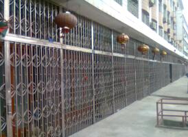 杭州不锈钢拉门,杭州不锈钢拉闸门厂家