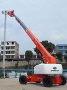 唐山自行式直臂高空作业平台,铝合金脚手架