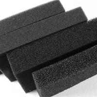 厂家直销黑色生化过滤海绵 粗孔过滤海绵