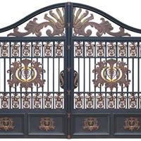供应铁艺庭院大门,铝艺庭院大门,栏杆