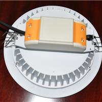 供应LED筒灯外壳配件5寸开孔150mm