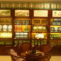 供应常德茶叶展柜,长沙茗茶专柜展示柜订做